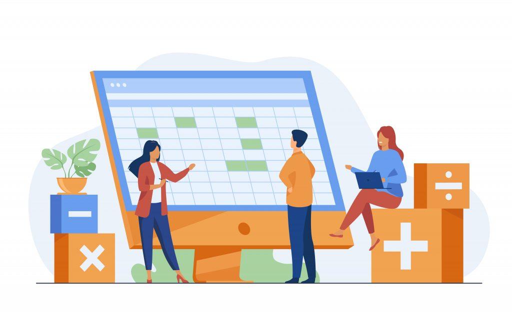 Visão de Agendamento online