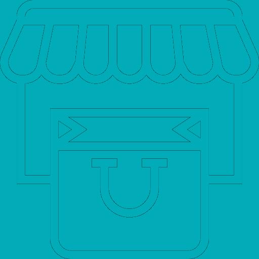 Ícone Criação de Loja