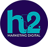 Ícone H2 Digital Rodapé